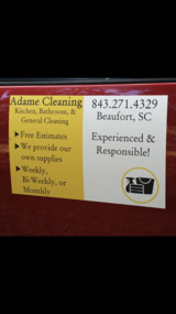 Adame Cleaning in Beaufort, South Carolina