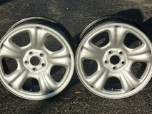 "SALEM, Mo. 2005 SUBARU FORESTER 4X OEM 5x100 6.5""x16"" STEEL WHEELS; GOOD USED in Fort Leonard Wood, Missouri"