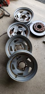 "(4) 13"" Trailer Wheels (Rims) in Quantico, Virginia"