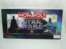 Star Wars Monopoly Classic Trilogy Edition 1997 in Naperville, Illinois