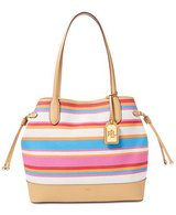 CLEARANCE ***Striped Canvas Lauren Ralph Lauren Tote Handbag*** in Houston, Texas