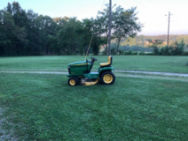 "John Deere GT 225 garden tractor 42"" cut in Fort Leonard Wood, Missouri"