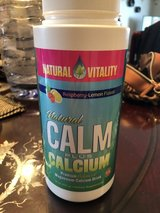 Natural Calm magnesium with calcium 16 oz in Okinawa, Japan