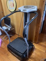 Confidence Fitness Whole Body Vibration Plate Trainer Machine with Arm Straps in Okinawa, Japan