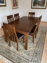 Dinning Table and 6 chairs in Ramstein, Germany