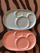 Ceramic DISNEY mickey mouse plates set of 2 NEW in Okinawa, Japan