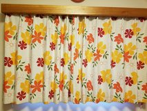 Japanese Curtains - Flower pattern in Okinawa, Japan