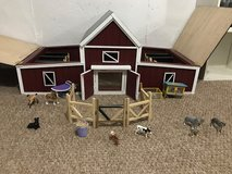 Handmade toy barn with animals to go with it! $100 OBO in Fort Knox, Kentucky