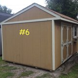 PRE-OWNED 10x16 Garden Shed Storage Building DISCOUNTED!! in Moody AFB, Georgia