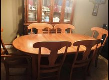Dining Table with 6 Chairs in Warner Robins, Georgia