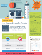 NEXT DAY LAUNDRY SERVICE in 29 Palms, California