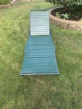 2 - commercial  grade aluminum  patio / pool lounge chairs. $45 each in Joliet, Illinois