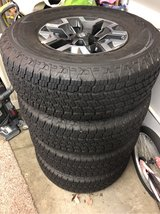 brand new Goodyear tires WITH RIMS in Travis AFB, California