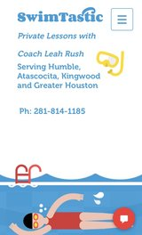 Private Swim Lessons in Kingwood, Texas