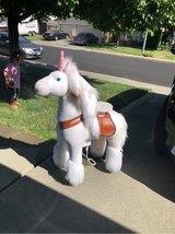 self riding unicorn in Travis AFB, California
