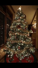 7ft pre-lit Christmas tree in Naperville, Illinois
