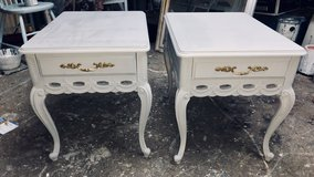 2 French Provisional Nightstands by Mersman in Fort Benning, Georgia