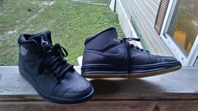 Nike Air Jordon Black Hightop in Fort Leonard Wood, Missouri