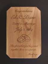 Custom Laser Engraved Plaques in Plainfield, Illinois