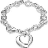 CLEARANCE ***BRAND NEW***Double Heart Charm Bracelet *** in Houston, Texas