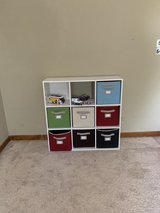 cubby storage with bins in Wheaton, Illinois