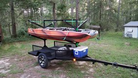 Kayak trailer in Warner Robins, Georgia