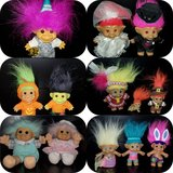 Vintage Troll Doll collection in Joliet, Illinois