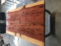 Live Edge Redwood Table in Travis AFB, California