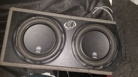"""2 12"""" db 500W Subwoofers in Houston, Texas"""