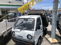 WOW 1994 Suzuki KEI Truck 4WD Manual Transmission - Dump Truck Bed - Exportable - Scuba? Hunting? in Okinawa, Japan