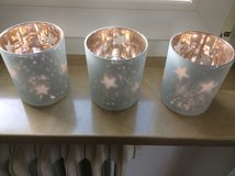 Star tealight candle holders in Ramstein, Germany