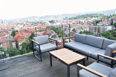 Unique city apartment with balcony and overview Stuttgart in Stuttgart, GE
