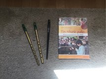 3 tin whistles & tutorial (book+CD) in Ramstein, Germany