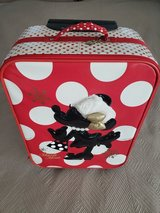 Minnie Mouse Suitcase Wheeled Travel Bag with Handle in Okinawa, Japan