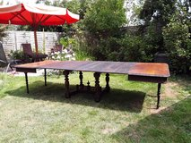 antique dining table in Ramstein, Germany