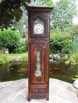 antique grandfather clock in Ramstein, Germany