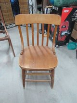 wood chair with nice size seat in Alamogordo, New Mexico