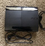 PS3 250GB with controllers in Joliet, Illinois