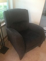 Recliner Blue, not a powered unit but very new in Plainfield, Illinois