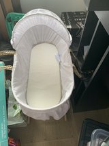 Moses basket and stand in Lakenheath, UK