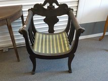 Antique Vintage Barrel Chair in The Woodlands, Texas