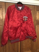 Vintage 1991 Chicago Bulls NBA World Champions Red Jacket in Plainfield, Illinois