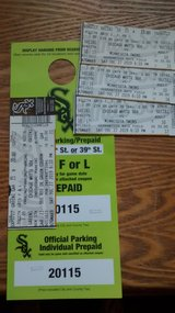 July 27th - 3 Chicago White Sox Tickets w/Parking Pass in Plainfield, Illinois