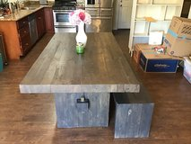 West Elm Emmerson Reclaimed Wood Table and Bench in Travis AFB, California