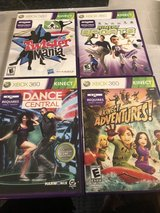 4 XBOX 360 Kinect Games in Chicago, Illinois