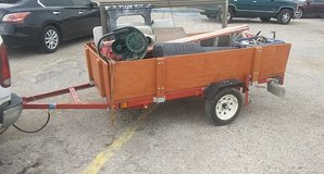 trailer with removable sides and tilt accesibility. in Pasadena, Texas