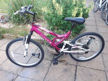 Pink Huffy in Lakenheath, UK