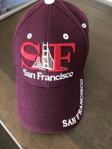 San Francisco hat in Travis AFB, California