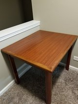 Solid Wood Table - 36 inches by 30 inches in Glendale Heights, Illinois