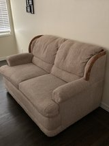 Nice comfy loveseat couch - excellent condition! pet free home! non-smoking home! in Travis AFB, California